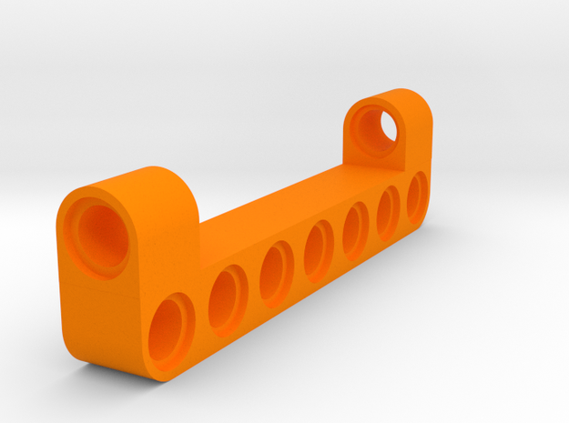 7 Beam Dobble Angle in Orange Processed Versatile Plastic