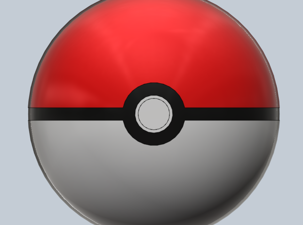 Pokeball- Small 3d printed