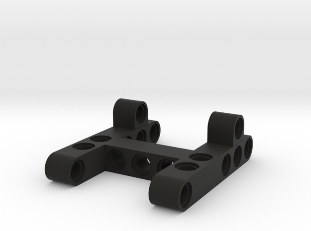 Differential frame 5x7x2x studs in Black Natural Versatile Plastic