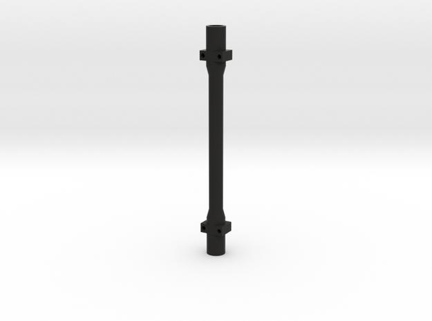 Scale Trailer Axle Tube in Black Natural Versatile Plastic
