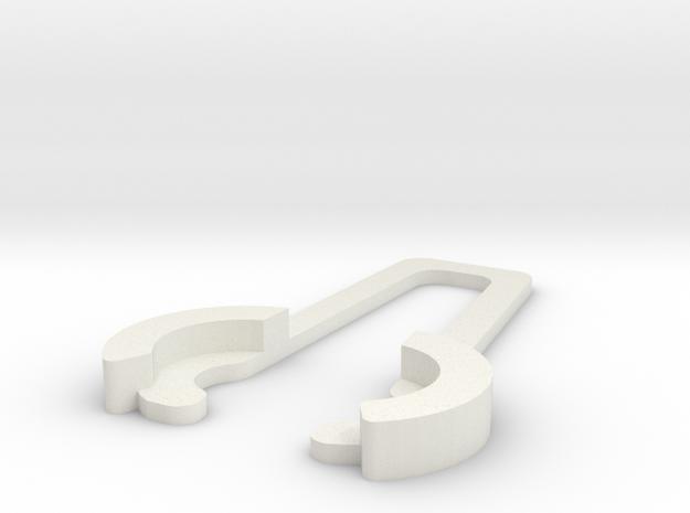 Sram Powerlink Opener in White Strong & Flexible