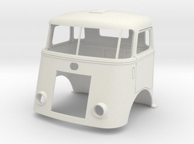 7-SP-cab-1to13 in White Natural Versatile Plastic