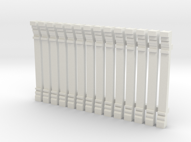 Pilaster, HO scale x 14