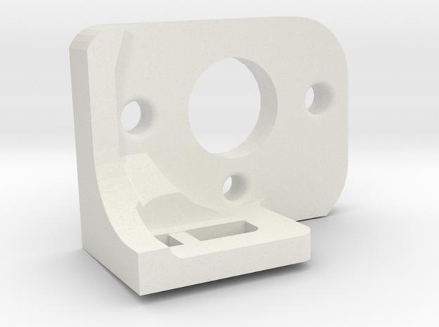 Soporte de motor SLOT 1:24 OJO demasiado gordo par in White Natural Versatile Plastic