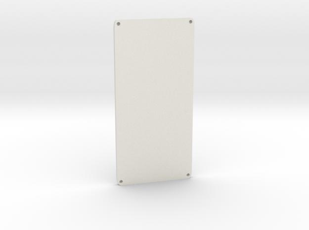 Wide G Door in White Natural Versatile Plastic