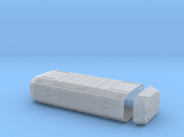 1/350 Imperial Zeta-Class Cargo Pod in Smooth Fine Detail Plastic