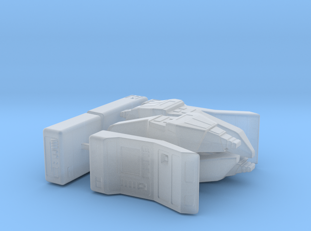 Away Team (Star Trek Next Generation), 1/18 in Smooth Fine Detail Plastic