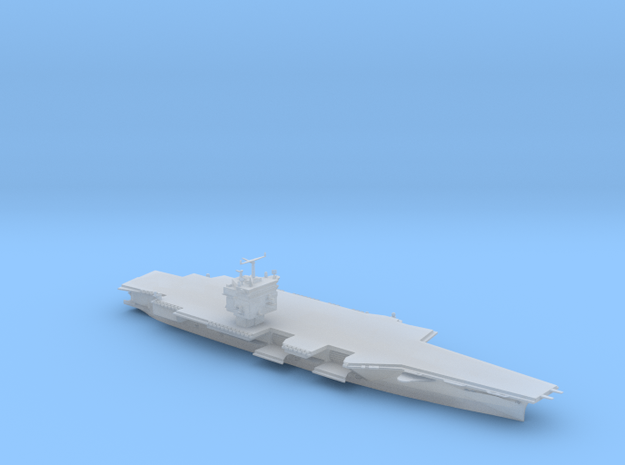 USS Enterprise CVN65 in 1/2400 in Smooth Fine Detail Plastic