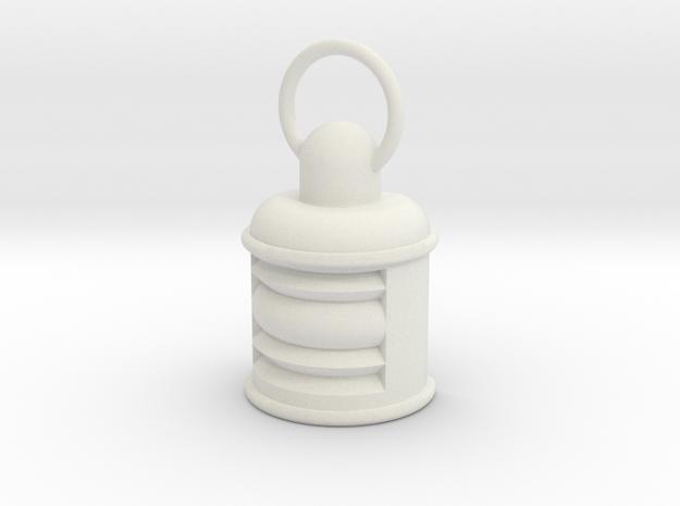 Lamp in White Natural Versatile Plastic