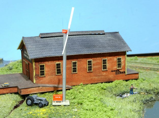 Orchard-Rite Wind Generator N Single in Smooth Fine Detail Plastic