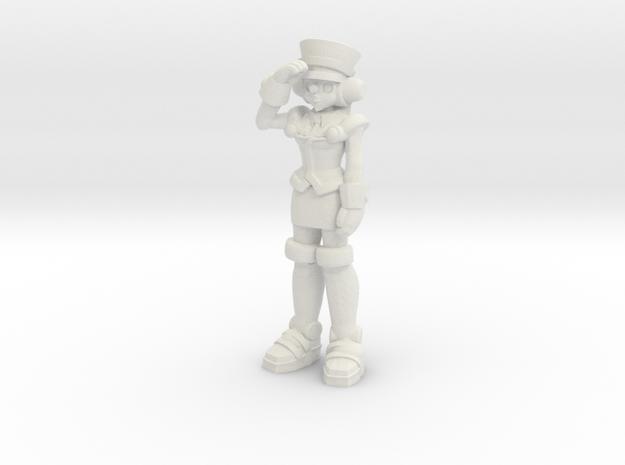 T-Ai, salute (RiD2000) 35mm Mini in White Strong & Flexible