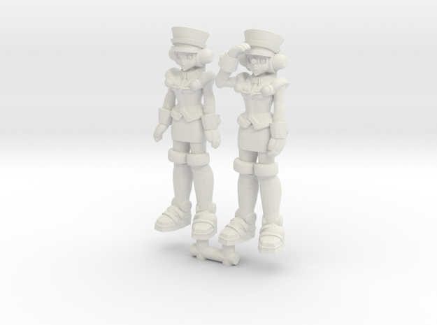 T-Ai 2-Pack (RiD2000) 35mm Minis in White Natural Versatile Plastic