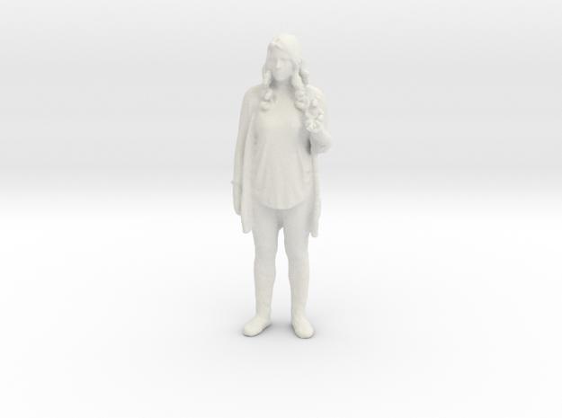 Printle C Femme 030 - 1/43.5 - wob in White Natural Versatile Plastic