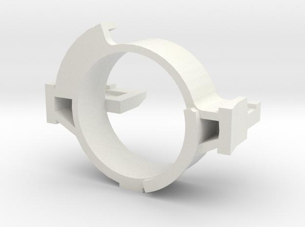 HopChop Mk4 Blade Fixture - R-Hop Cutting Jig in White Natural Versatile Plastic