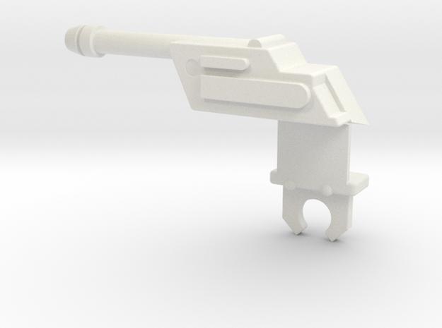 MASK Firecracker Side Cannon Passenger Side in White Natural Versatile Plastic