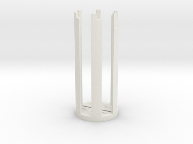 ESB/TFA Grip Guide (Version A) in White Natural Versatile Plastic