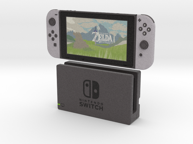 1:6 Nintendo Switch (with Dock)