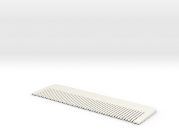 Comb #1 in White Strong & Flexible