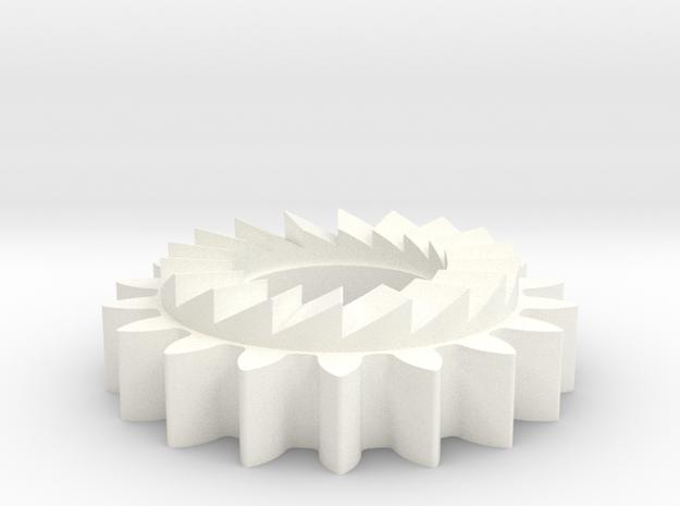 BSA E35 kickstart pinion 57-4250 in White Processed Versatile Plastic