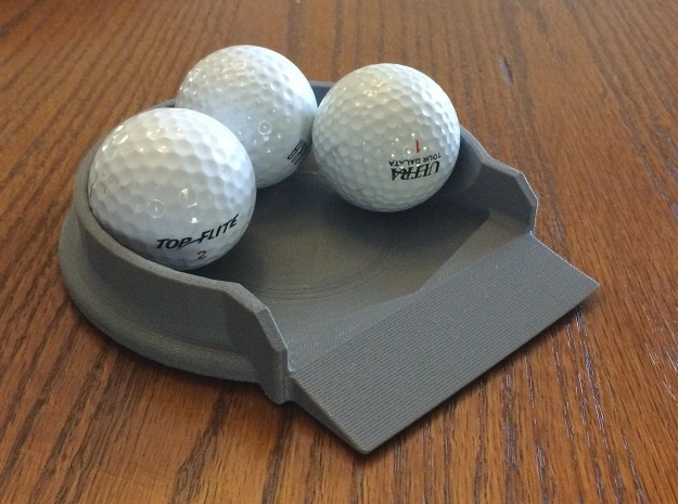 Putt Cup model 14 in White Strong & Flexible