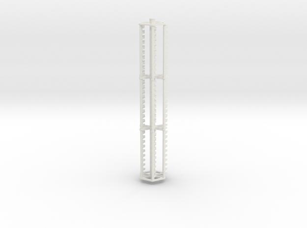 20 FOOT FINGER REEL in White Natural Versatile Plastic