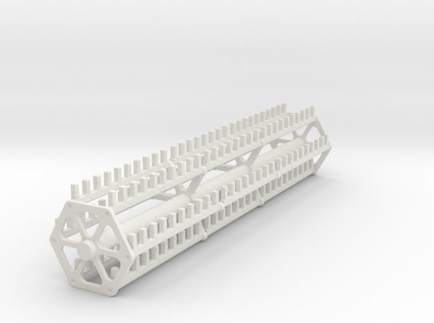 18 ft finger reel in White Natural Versatile Plastic