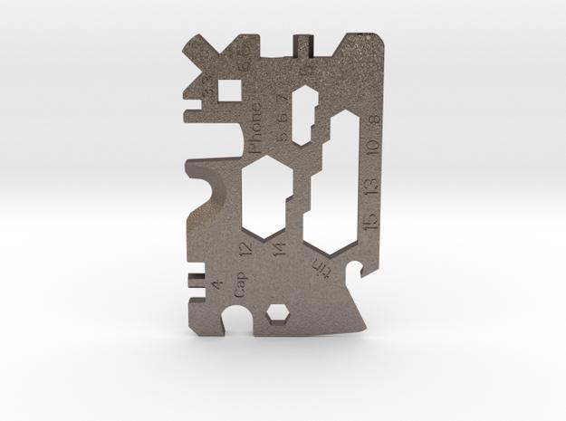 MultiCard - universal lightweight pocket tool