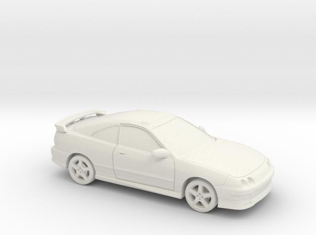 1/87 1996 Acura Integra Type R in White Natural Versatile Plastic