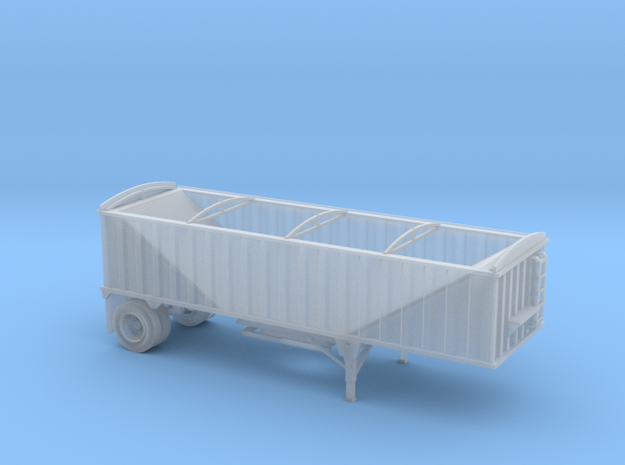N-Scale CPS-Manac 28' Pup Grain Trailer in Smoothest Fine Detail Plastic