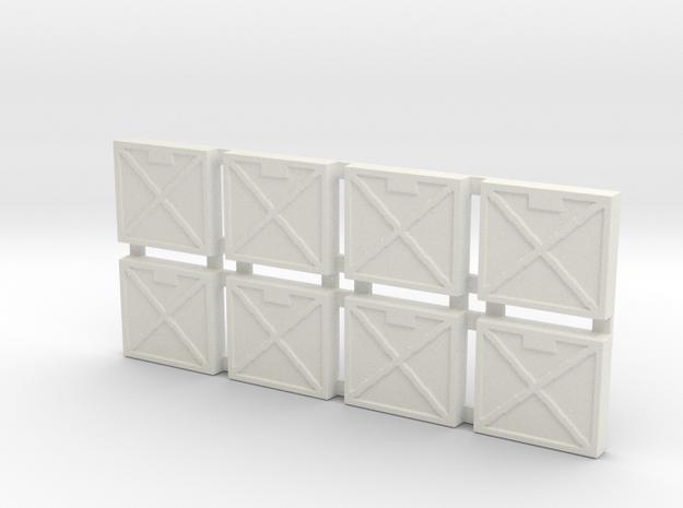 Infantry Tiles in White Strong & Flexible
