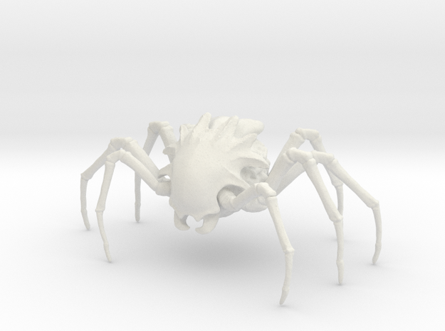 Enslaver Spider in White Natural Versatile Plastic