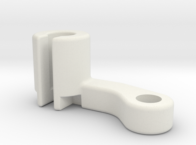 Filament Bracket Right handed in White Natural Versatile Plastic