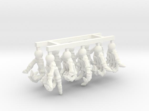 SL01-HandPack-01 in White Processed Versatile Plastic