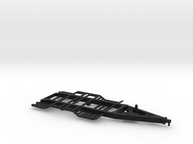 1/64 Donahue Combine Trailer in Black Natural Versatile Plastic