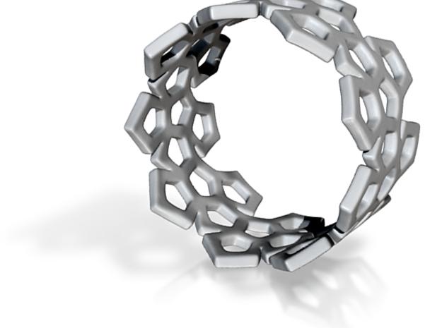 Penta Ring 3d printed