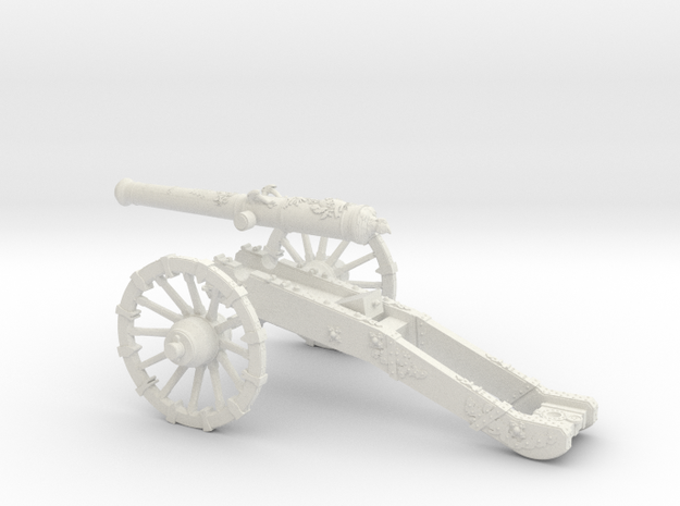 French gun 12 Pounder 7 Years War 28mm