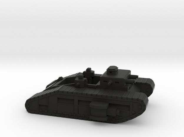 Infantry Fighting Vehicle in Black Natural Versatile Plastic