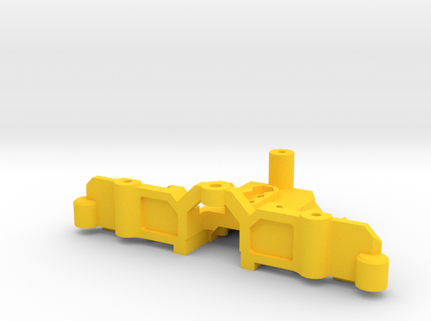 MyProto MPV4C Rear Support AAA - T Plate  in Yellow Processed Versatile Plastic