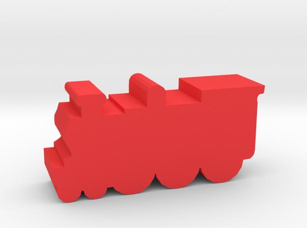 Game Piece, Magic Steam Engine in Red Processed Versatile Plastic