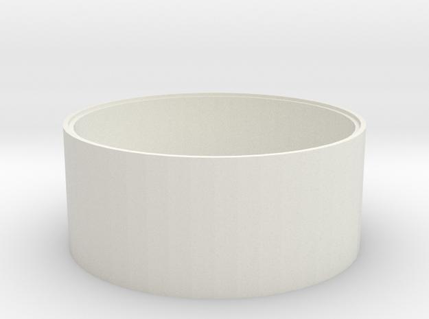 L 62-50 Betonschacht Boden in White Natural Versatile Plastic