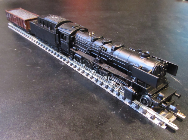 DSB class N kit for N scale BR 50 3d printed Dont paint over the saftey valves they were out of brass on the real thing Use matt paint for best result