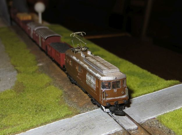 BLS Re 4/4 179 in Smooth Fine Detail Plastic