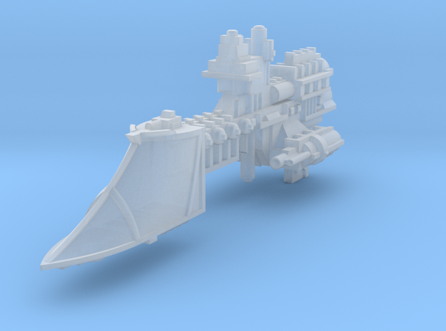 Sword class frigate in Frosted Ultra Detail