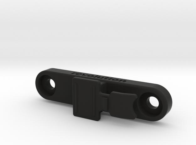 Bontrager Flare / RT Rack Mount in Black Natural Versatile Plastic