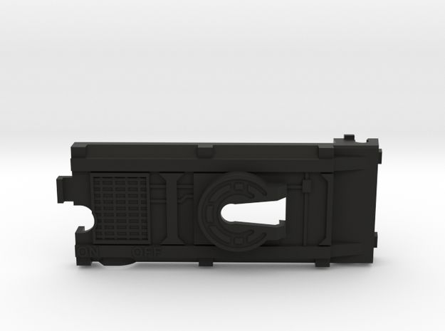 Conventional Side Switch Battery Cover in Black Strong & Flexible