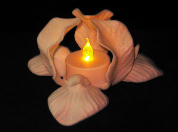 Iris Candle Holder 3d printed