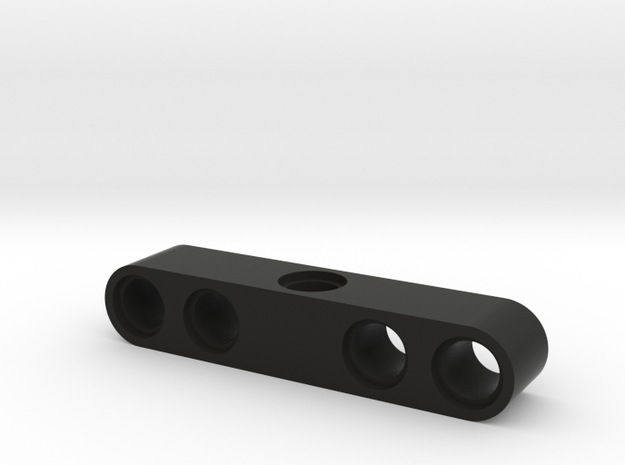 5 Stud Cross Hole Beam in Black Natural Versatile Plastic