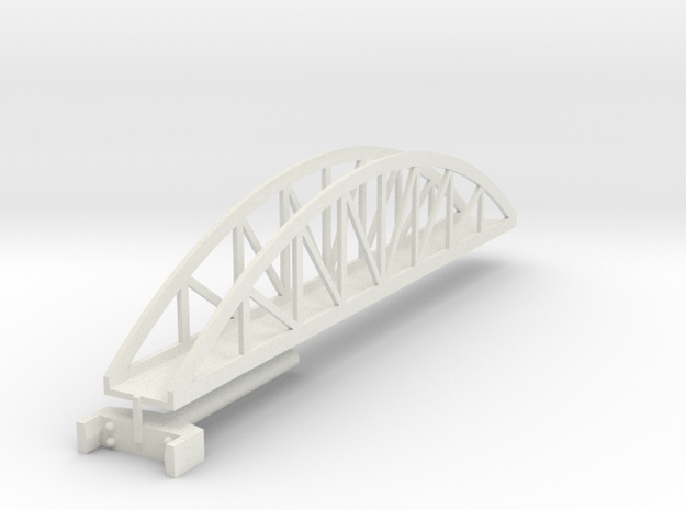 bridge stretch 180 mm t-gauge in White Strong & Flexible