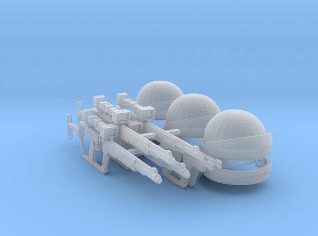 Shock Trooper Squad (V, The Visitors), 1/18 in Smooth Fine Detail Plastic