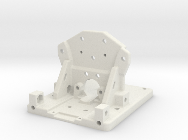 Prusa Chimara Bracket in White Natural Versatile Plastic